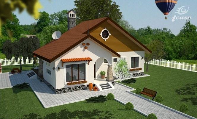 Tu ce alegi vila proprie 75mp cu euro sau for Proiecte case parter