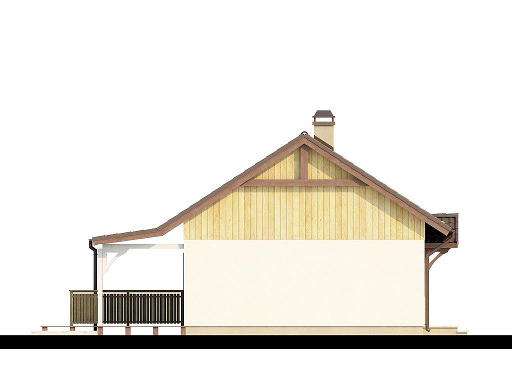 Proiect De Casa Mica Parter 60011 F3