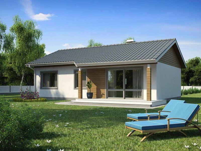 Proiect de casa ieftina cod 1107 parter 4 camere for Case parter 3 camere