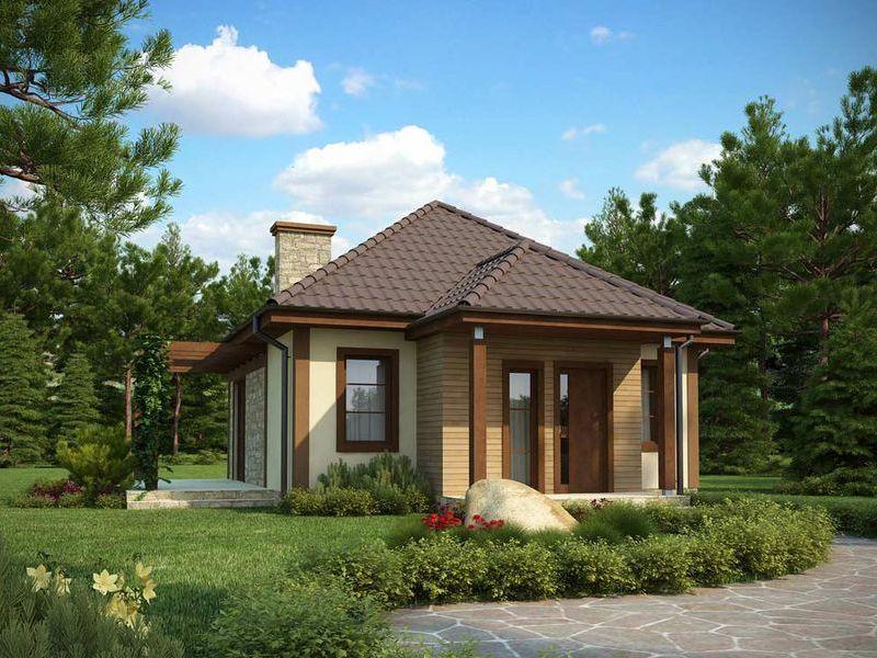 Proiect de casa ieftina cod 11037 parter 2 camere for Case parter