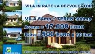 Pentru prima oara in Romania, incercam sa raspundem nevoilor clientilor nostri si sa le oferim Case cu Teren, cu plata in Rate La Dezvoltator pe o perioada de 5 ani (60 de luni, plati lunare). […]