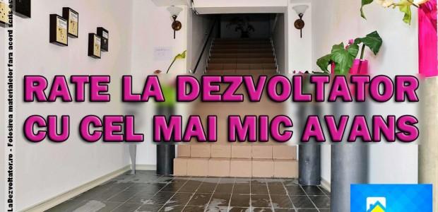 Apartamente de 2 Camere cu Rate La Dezvoltator si cel mai mic avans din Bucuresti si Ilfov si preturi accesibile, acum numai pe site-ul www.RateLaDezvoltator.ro. Avans = 20% Rate pe 60 de Luni (5 Ani) […]