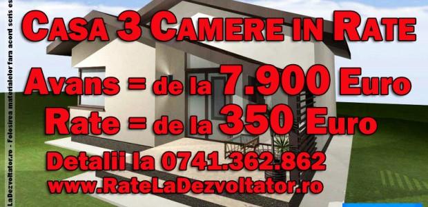 Casa 3 Camere 65 mp cu Avans si Plata in Rate La Dezvoltator Casa ieftina pe care o propunem raspunde unei cerinte din ce in ce mai prezente pe piata imobiliara din Romania, respectiv o […]