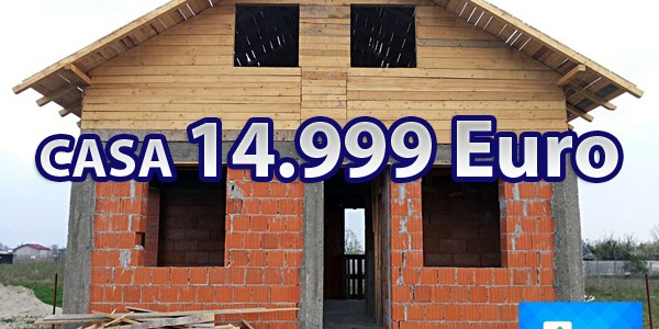 """Casa Parter si Mansarda (56+56=112mp) doar 14.999 Euro""""la rosu"""" Pret constructie la rosu (plata cash) = 14.999 Euro Pretul prezentat este valabil pentru constructia realizata pe terenul Dvs.. Descrierea proiectului Parter Camera de zi Bucatarie […]"""