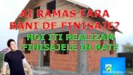 Echipa RateLaDezvoltator.ro ofera in premiera Finisaje in Rate pentru acei clienti carenu au avut buget suficient pentru toate finisajele pe care si le-au propus la inceperea unei constructii. Ati ramas cu o constructie nefinalizata sau […]