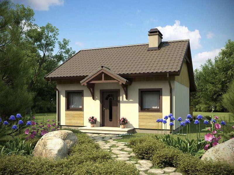 Proiect De Casa Mica Parter 60011